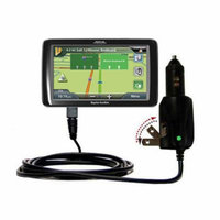 Intelligent Dual Purpose DC Vehicle and AC Home Wall Charger suitable for the Magellan Roadmate 9055 - Two critical functions, one unique charger - Us
