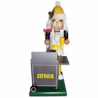 Santa's Workshop NACC Iowa Hawkeyes Tailgating Nutcracker