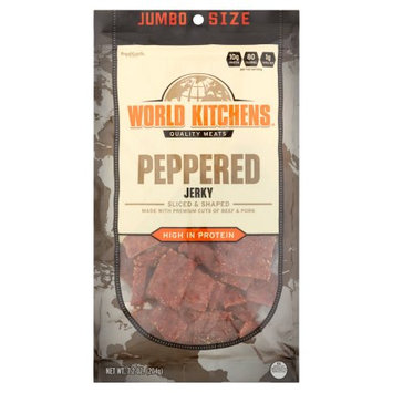 World Kitchens Peppered Jerky, 7.2 oz