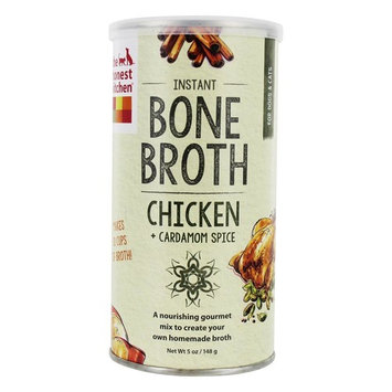Instant Bone Broth for Dogs & Cats Chicken + Cardamom Spice - 5 oz.