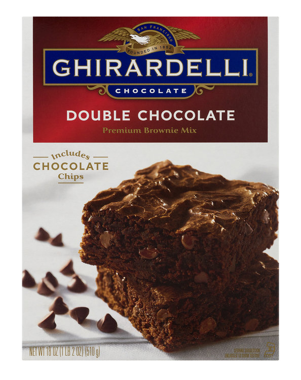 Ghirardelli Premium Brownie Mix Double Chocolate