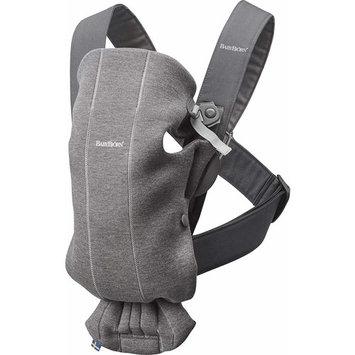 BabyBjörn Baby Carrier Mini in 3D Jersey - Dark Grey [3D Jersey]