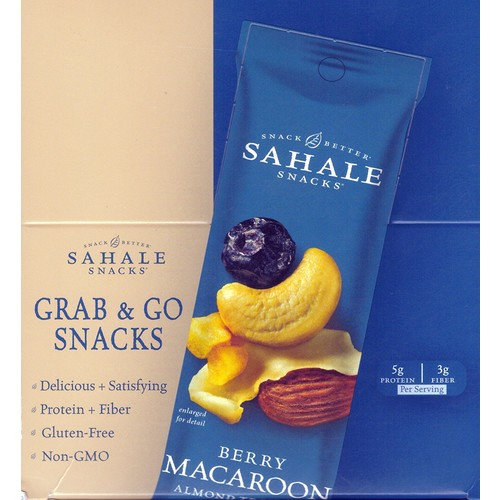 Sahale Snacks Berry Macaroon Almond Mix – Kids Favorite Snack -9 x 1.5 Oz