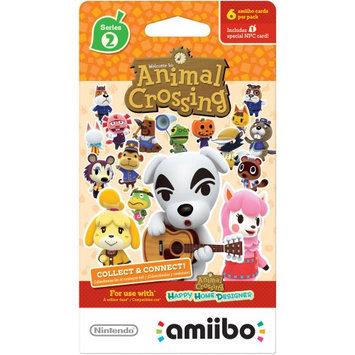 Nintendo NVLEMA6B ANIMALXING AMIIBO CARDS S2 6PK