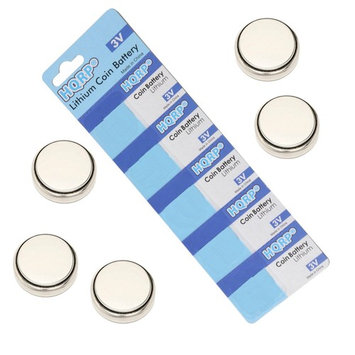 HQRP 5-Pack Battery for Toyota Venza 2010/2011 / 2009 Smart Key Fob + HQRP Coaster
