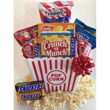 Gifts2gonow Snack Attack Popcorn Gift Basket