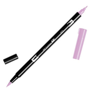 Tombow Dual Brush Marker Open Stock-673 Orchid