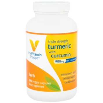 Triple Strength Turmeric with Curcumin 900 MG (240 Veggie Caps) at the Vitamin Shoppe