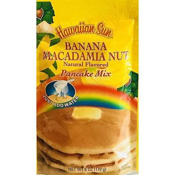 Hawaiian Natural Flavored Pancake Mix! Choose From Macadamia Nut Flavors! Just Add Water! 6oz Package! (Banana Macadamia Nut)