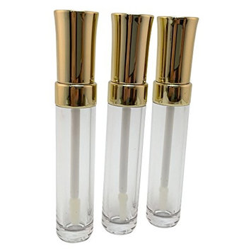Empty Clear Lip Gloss Concealer Tube 7.5 g (Pack of 2)