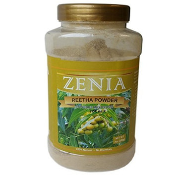 200g Zenia Aritha Reetha Powder Bottle 100% Natural by Zenia