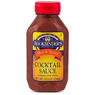 Bookbinder's Bookbinders 271438 10.75 oz Cocktail Hot Sauce Pack of 9