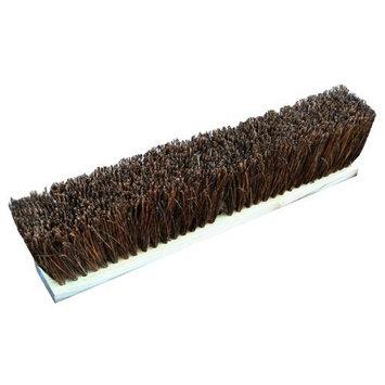 Zephyr 39236 Palmyra Fiber Garage Wood Block Push Broom, 36