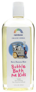 Rainbow Research Organic Herbal Bubble Bath For Kids Berry Banana Blast - 12 fl oz - HSG-562785