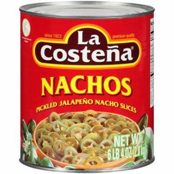 La Costeña® Pickled Jalapeño Nacho Slices 100 oz. Can