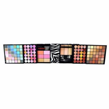 Lady De 129 colors bold traveller size eye shadow and blusher make-up gift set