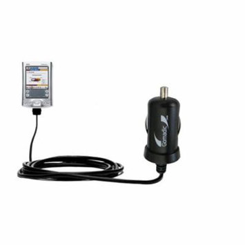 Gomadic Intelligent Compact Car / Auto DC Charger suitable for the Palm palm Tungsten T - 2A / 10W power at half the size. Uses Gomadic TipExchange Te