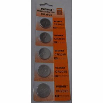 BBW CR2025 3V Lithium Coin Battery 15 Pack + FREE SHIPPING!