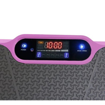Ultraslim Pink Crazy Fit Full Body Vibration Platform Massage Machine MP3 Player