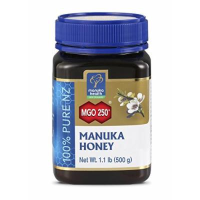 Manuka Health - MGO 250+ Manuka Honey, 100% Pure New Zealand Honey, 1.1 lbs (500 g)