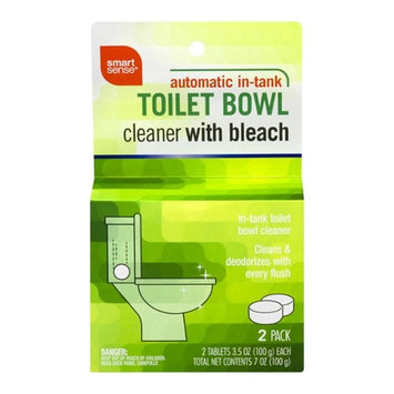 Smart Sense Automatic In-Tank Toilet Bowl Cleaner With Bleach, 2-pack, 3.5 oz