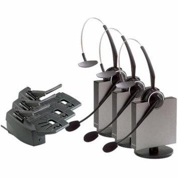 Jabra GN9125 Flex NC Mono Headset & GN1000 Lifter w/ PeakStop Tech & Noise-Canceling Mic (3 Pack)