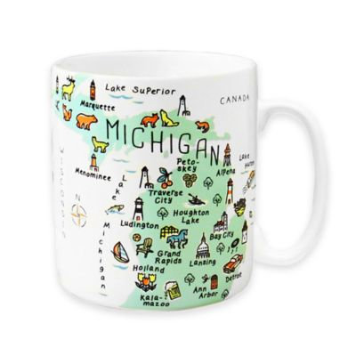 My Place Michigan Jumbo Mug