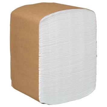 Scott Paper Dinner Napkins (98740), Disposable, White, 1/8 Fold, 2-Ply, 12 x 13 (Unfolded), 16 Packs of 375 Dinner Napkins (6,000/Case)