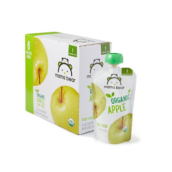 Amazon Brand - Mama Bear Organic Baby Food, Stage 1, Apple, 4 Ounce Pouch