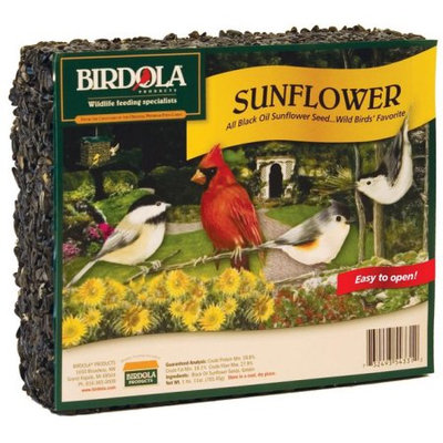 Birdola Products Birdola Sunflower Seed Cake 54331 - Pack of 8