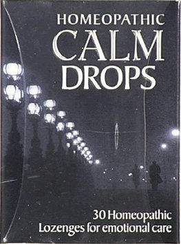 Historical Remedies 0384339 Homeopathic Calm Drops - 30 Lozenges