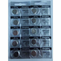Energizer EBR1225 3V Lithium Coin Battery - 10 Pack + Free Shipping