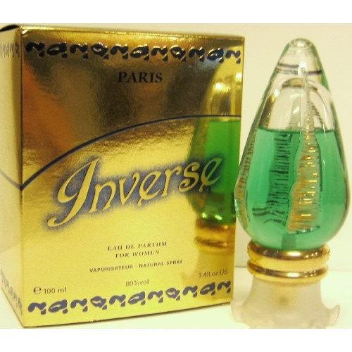 Inverse for Women Collectibe Bottle 3.4 Oz Eau De Parfum Spray Bottle By Geparlys