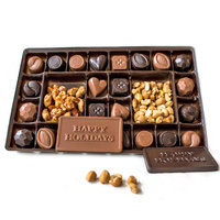 Lang's Chocolates 1lb Chocolate Sampler Holiday Box