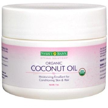 Nature's Bounty Optimal Solutions Organic Coconut Oil, 7 oz