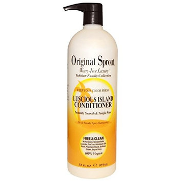 Original Sprout Luscious Island Conditioner, 33 Ounce