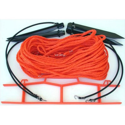 Homecourt Volleyball Home Court M825OS 8 Meter Orange .25-inch rope Non-adjustable Courtlines