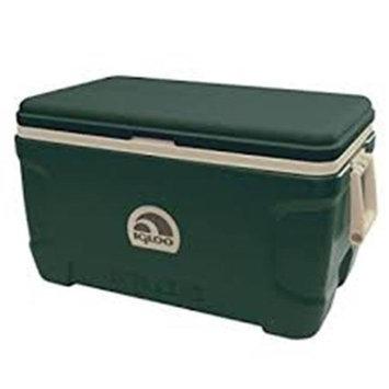 John Deere TS6006001KH52Q 52 qt Lit Cooler with Green & Yellow
