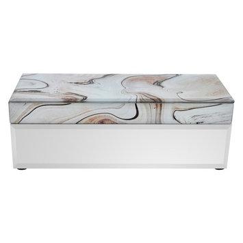 Three Hands Decorative Box with Mirror