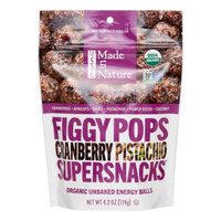 Made In Nature Organic FiggyPops, Cranberry Pistachio, 4.2 Oz
