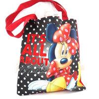 Shopping bag 'Minnie' black red.