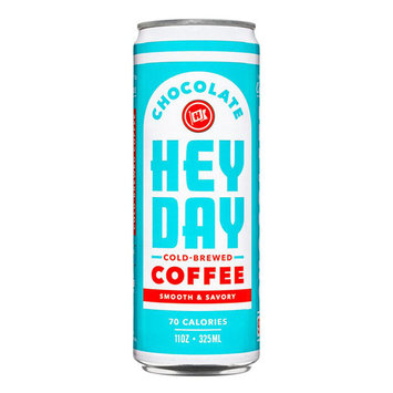 HEYDAY Smooth & Savory Chocolate Cold Brew Coffee 11 oz Cans - Pack of 12