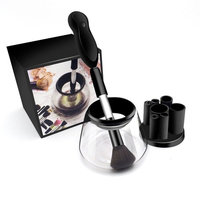 Makeup Brush Cleaner, MAANG Automatic Makeup Brushes Drier 360 Rotation with 8 Rubber Collar