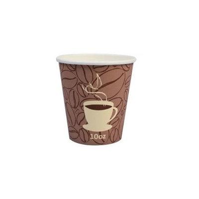Primus Source Prime Source 75000243 CPC 10 oz Plastic Coffee Bean Hot Cup Case of 1000