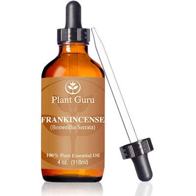 Frankincense Essential Oil 4 oz. 100% Pure Undiluted Therapeutic Grade Extract of Boswellia Serrata, Great For Aromatherapy Diffuser, Supports Joint Health and More.