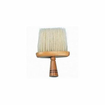 ScalpMaster Professional Barber Wide Neck Duster Cleaning Brush, WOOD, ND-14