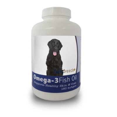 Healthy Breeds 840235141419 French Bulldog Omega-3 Fish Oil Softgels 180 Count