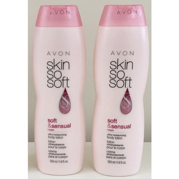 Lot of 2 Avon Skin So Soft SSS Soft & Sensual Body Lotion Argan Oil 11.8 oz. ea.