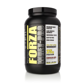 Forzagen Forza Whey-Pro 100% Premium Whey Protein, 25g Protein, 26 Servings - Chocolate