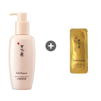 Sulwhasoo Gentle Cleansing Foam 6.8oz(200ml) + Sample 1(Sulwhasoo First Care Activating Serum)